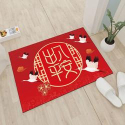 奥丝达 红色地毯地垫 40*60cm