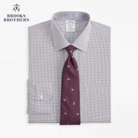 Brooks Brothers/布克兄弟男士免烫宽距领正装长袖衬衫