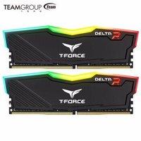 十铨(Team)DDR4 3600 16G(8G*2)台式机内存条 Delta系列 RGB灯条