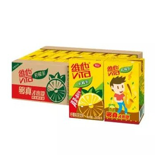 维他奶 维他低糖柠檬茶饮料250ml*24盒  柠檬果汁味红茶  斗罗大陆动画联名款  各包装随机发货 家庭整箱装 *5件