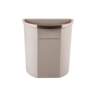 京东京造 厨房垃圾桶 悬挂式厨房分类垃圾收纳 挂式蔬菜果皮湿垃圾桶  咖色 *11件