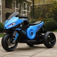 宝马 儿童电动摩托三轮车 早教款 大电瓶单驱动 +凑单品