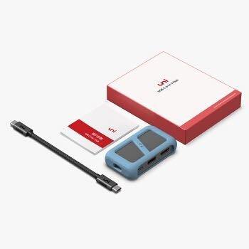 uni Type-C扩展坞苹果MacBook华为P30手机USB-C转HDMI转换器4K投屏拓展坞