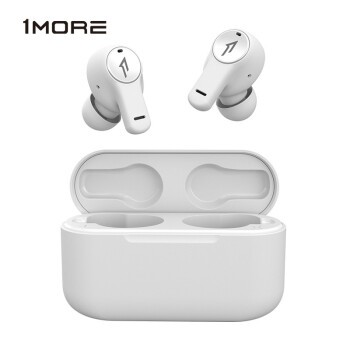 1more 万魔 PistonBuds ESC3001T 真无线蓝牙耳机 白色