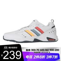 adidas阿迪达斯男鞋运动鞋都市跑步慢跑鞋缓震轻便透气休闲鞋topsports FY4374