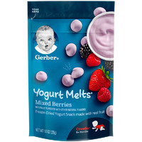 Gerber 嘉宝 酸奶溶豆 混合莓味 28g