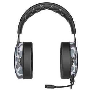 USCORSAIR 美商海盗船 HS60 HAPTIC 立体声游戏耳机 迷彩色
