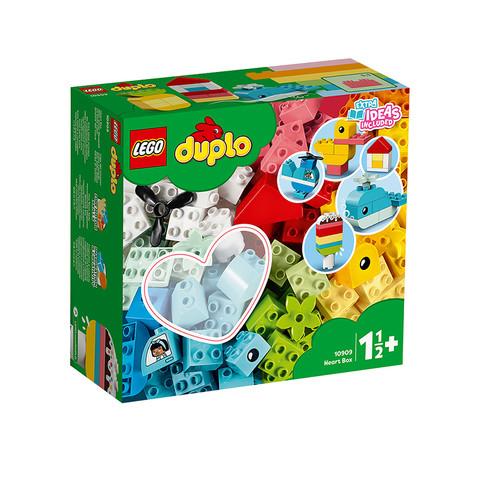 女神超惠买:LEGO 乐高 得宝系列 10909 心形创意积木盒 +凑单品