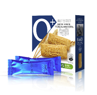 Franzzi 法丽兹 0+高纤谷物饼 108g*2盒