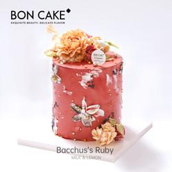 BONCAKE网红生日蛋糕礼物裱花蛋糕北京上海杭州同城配送 3磅