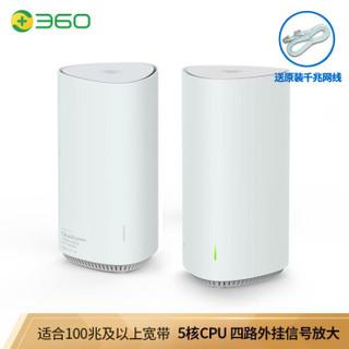 双11预售 : 360 V6M WiFi6 AX1800 无线路由器 双母装