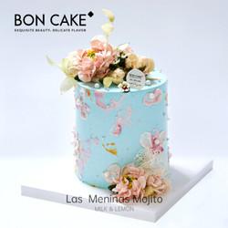 BONCAKE网红生日蛋糕礼物北京上海杭州同城配送 3磅