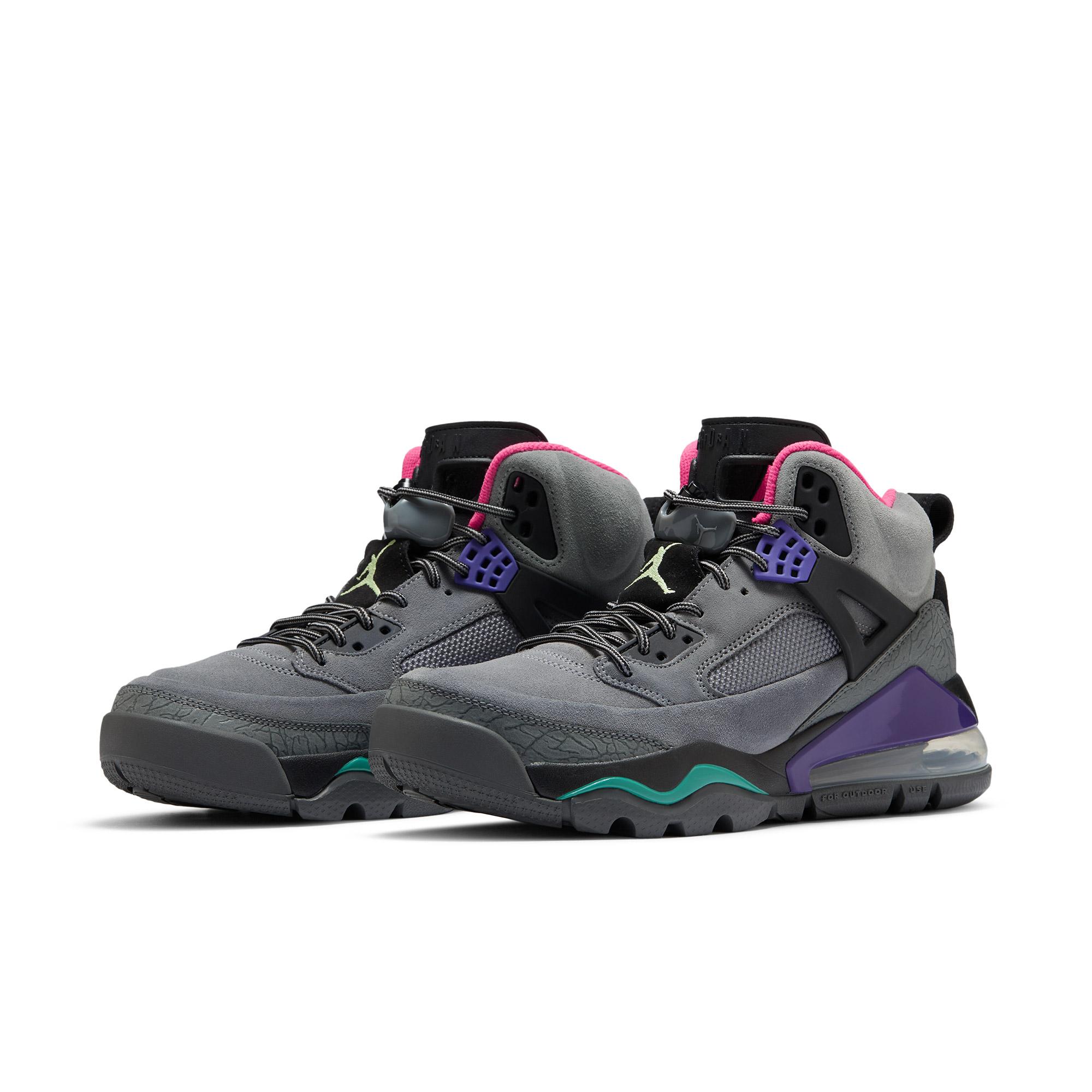 AIR JORDAN Jordan spizike 270 boot 男士休闲运动鞋 CT1014-002 烟灰/微黄绿/黑/海神绿/西瓜红/庭紫