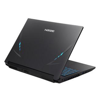Hasee 神舟 战神Z8-CU7NS 15.6英寸 笔记本电脑 (黑色、酷睿i7-10750H、16GB、512GB SSD、RTX 2060 6G)