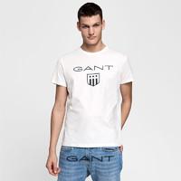 GANT/甘特夏季 男士盾牌logo短袖T恤254121