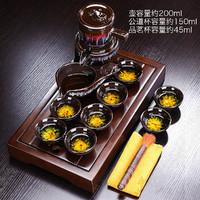 唐丰 蓄水式茶托简约实木茶盘