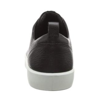 ecco 爱步 柔酷8号 男士运动鞋 46019451311 黑色/白色 44