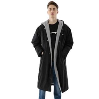 Champion 男士运动棉服 C3-LS610 黑色 M