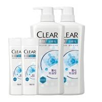 CLEAR 清扬 弱酸性 蓬松控油洗发露(720g*2+100g*2)