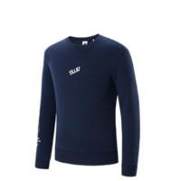 SEPTWOLVES 七匹狼 男士套头长袖圆领卫衣1H1950603835 深蓝M