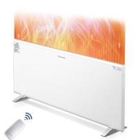 松下(Panasonic)取暖器  电暖器 电暖气 家用智能 遥控快热炉 静音 速热 DS-AT2021CW *2件