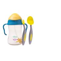 b.box 迪士尼系列 宝宝吸管水杯+叉勺组合套装