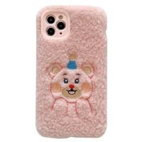 宜客诺 毛绒小熊 Iphone手机壳