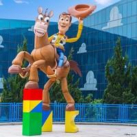 上海迪士尼玩具总动员酒店花园景观房1晚(含双早+提前入园权益)
