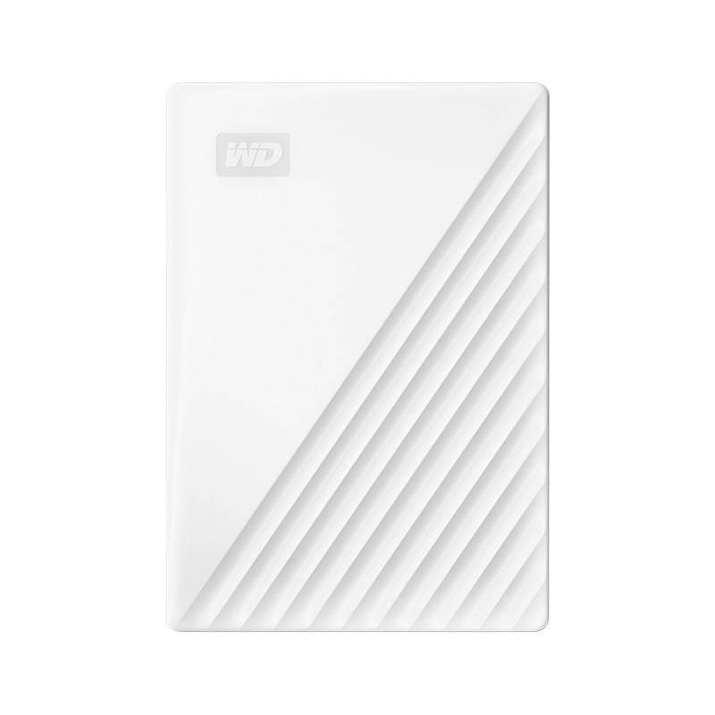 Western Digital 西部数据 My Passport系列 2.5英寸 USB3.0移动机械硬盘 2TB 旗舰随行版 水墨白
