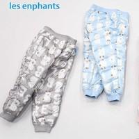 丽婴房童装 儿童保暖羽绒裤