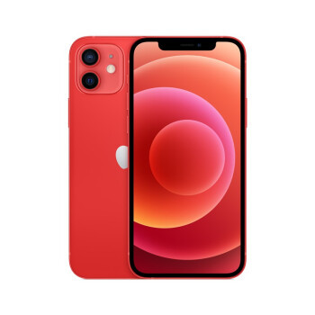 Apple iPhone 12 (A2404) 128GB 红色 支持移动联通电信5G 双卡双待手机