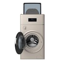 TCL G110P10-HBY 复式滚筒洗衣机 1+10kg