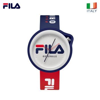 斐乐(FILA)手表女情侣潮流撞色防水运动手表