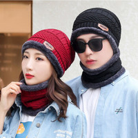 百亿补贴:yitingq 毛线帽子+围脖套装