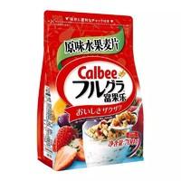Calbee 卡乐比 水果麦片 700g+ Calbee/卡乐比 减糖麦片600g+ 净安衣物家居消毒液1L*2瓶 +凑单品