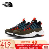 预售The North Face北面男鞋 官方旗舰2020秋冬新品复古休老爹鞋闲板鞋运动鞋4O98 4O98BQW 42/9
