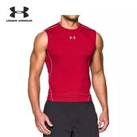 UNDER ARMOUR 安德玛 HeatGear Armour 1257469 男士伸缩型无袖T恤 *7件