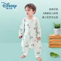 Disney 迪士尼 米奇米妮全棉纱布分腿式睡袋薄款 *2件