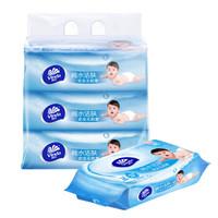 Vinda 维达 婴儿纯水洁肤湿巾 80片装*3包