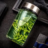 希诺 单层玻璃水杯  390ML *2件