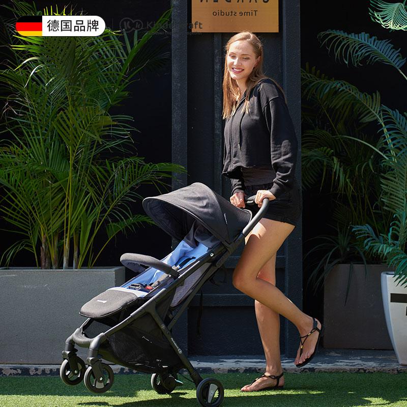 Kinderkraft 婴儿推车超轻便折叠可坐可躺便携式儿童小车宝宝伞车新生0/1-3岁