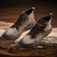 MARK FAIRWHALE 马克华菲 799496049021621 男士工装靴