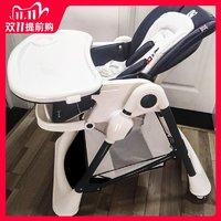 英国karmababy宝宝餐椅婴儿坐椅多功能可折叠家用吃饭儿童座椅子