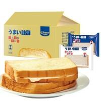 京东PLUS会员:欧其乐 老酸奶味吐司面包 (内含20包) *2件
