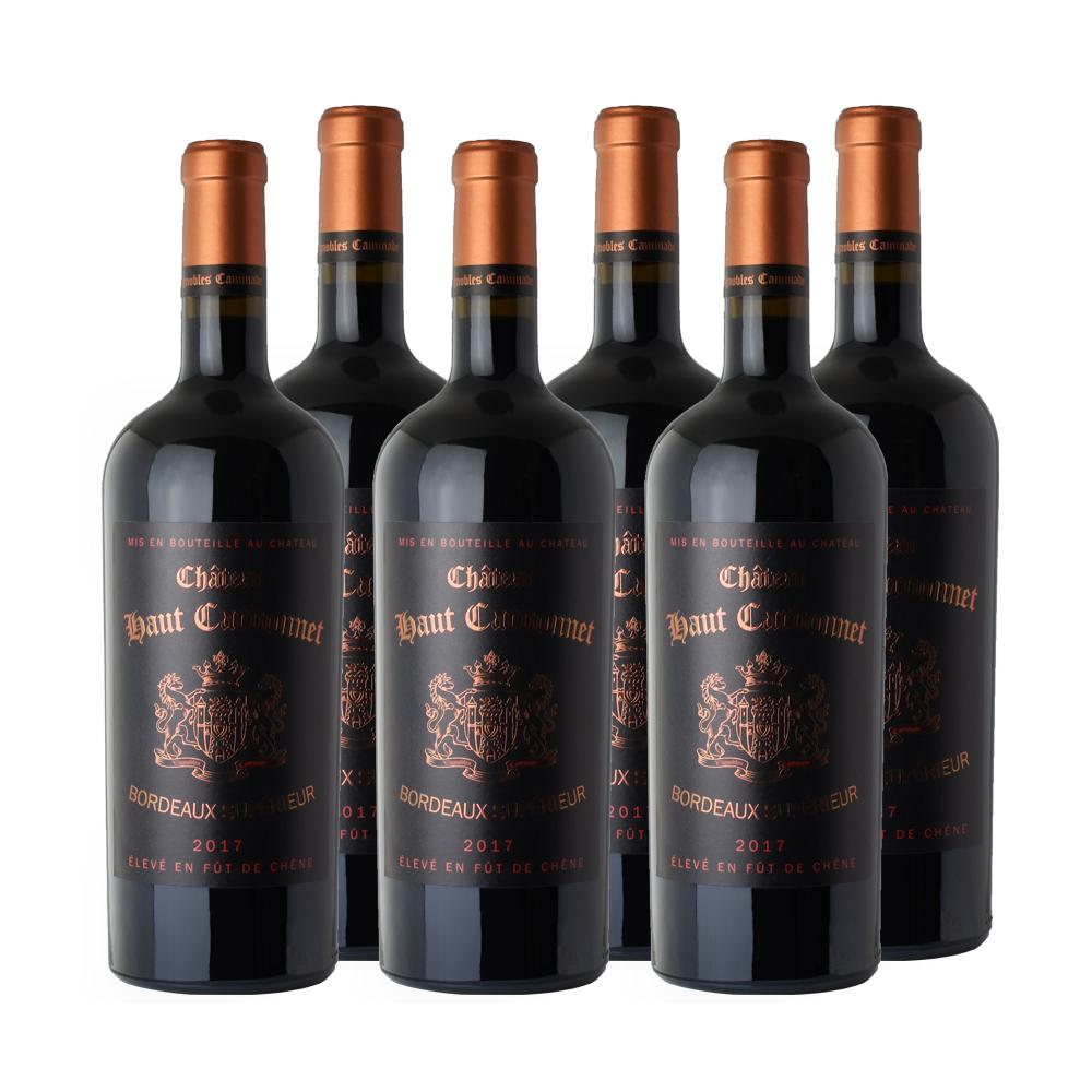 双十一预售 : 德拉枫庄园  法国进口嘉 德纳城堡陈酿干红葡萄酒  750ml*6支