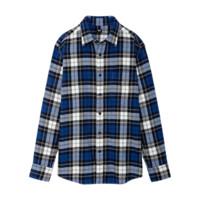 UNIQLO 优衣库 男士法兰绒格子长袖衬衫421204
