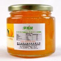 2瓶蜂蜜柚子茶酱冲饮果酱小瓶奶茶店专用1kg蜜炼玻璃瓶密封罐带盖