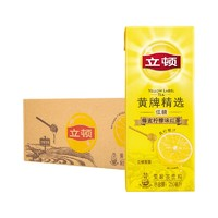Lipton 立顿 黄牌精选 低糖蜂蜜柠檬红茶 250ml*6盒