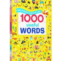 《1000 Useful Words DK1000个常用的单词》毛毛虫点读版 原版绘本