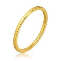 CHOW TAI FOOK 周大福 精致女神系列 E126454 女士18K金戒指